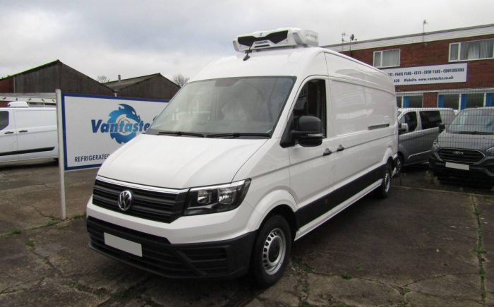 vw crafter fridge van with standby