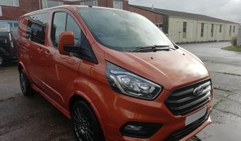 Ford Transit Custom L1H1 280 130PS TEC+ Crew Van full