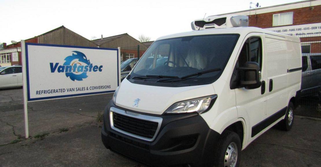 l1 peugeot boxer fridge van with standby