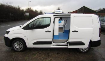 Peugeot Partner Long 100PS Professional Fridge Van Euro 6.2 full