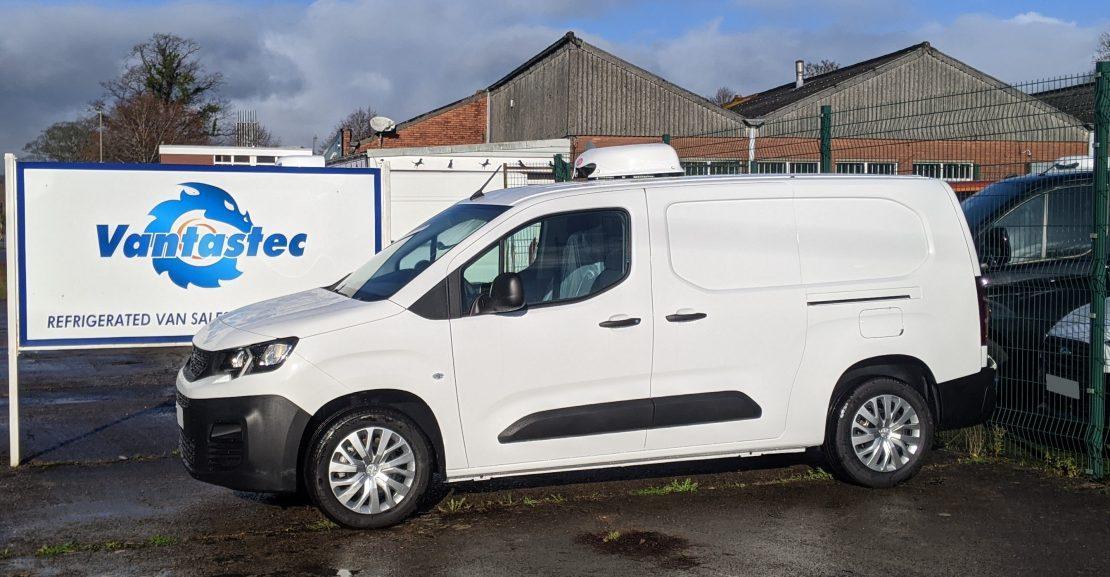 l2 peugeot partner fridge van