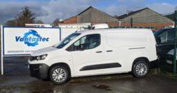 Peugeot Partner Long 100PS Professional Fridge Van Euro 6.2