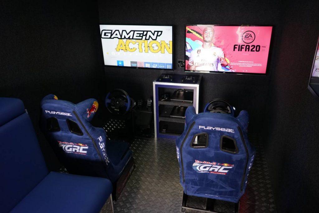 Gaming Van Conversion - Game 'N' Action