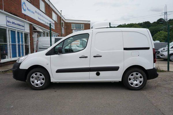electric Peugeot Partner refrigerated van