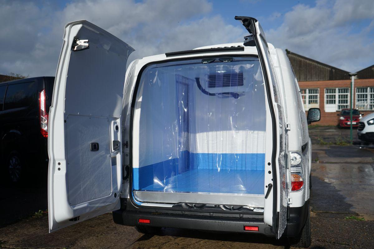 Nissan eNV200 refrigerated van, converted by Vantastec