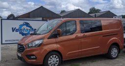 Ford Transit Custom 320 L2H1 130 LTD Crew Cab Van