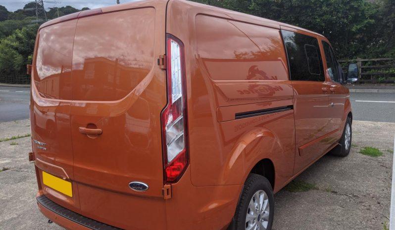 Ford Transit Custom 320 L2H1 130 LTD Crew Cab Van full