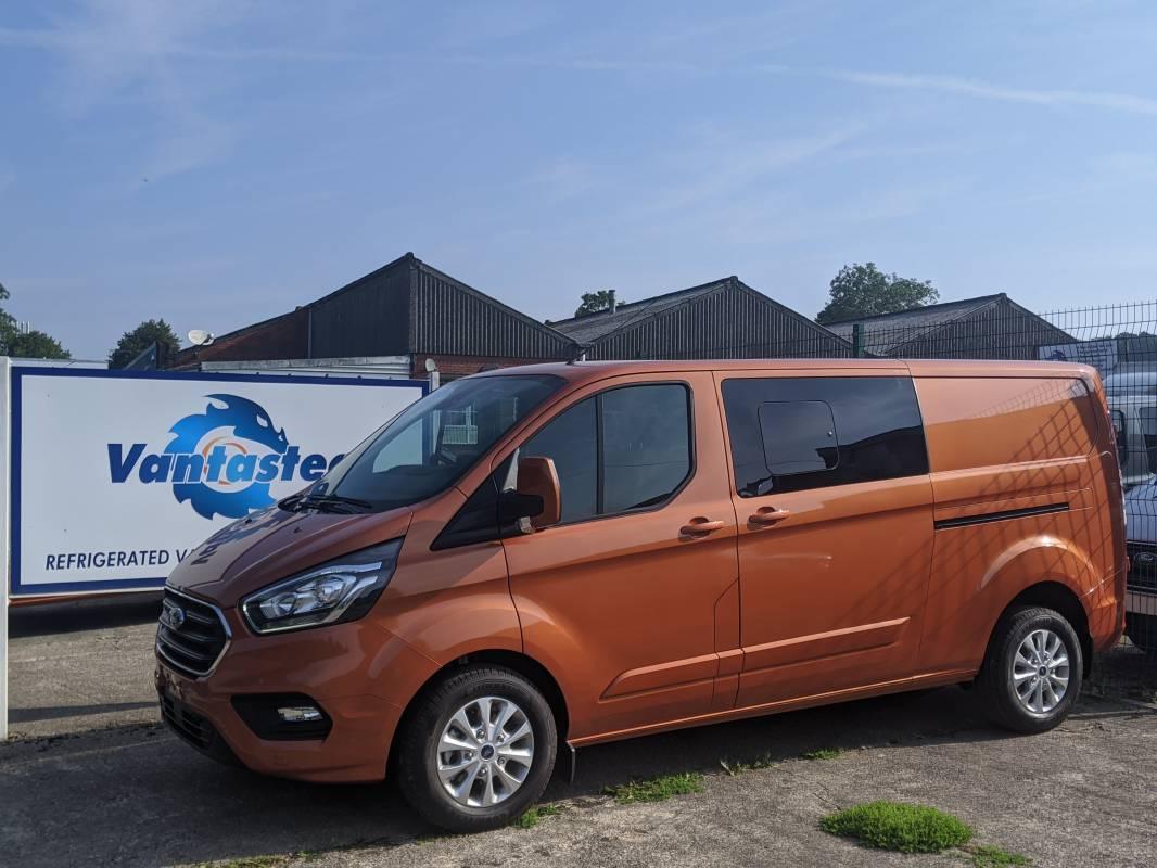 Ford Transit Custom Crew Van Automatic