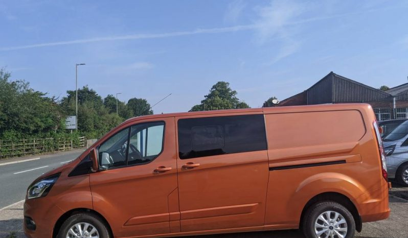 Automatic Ford Transit Custom L2H1 185PS LTD Crew Van With Leather Seating full