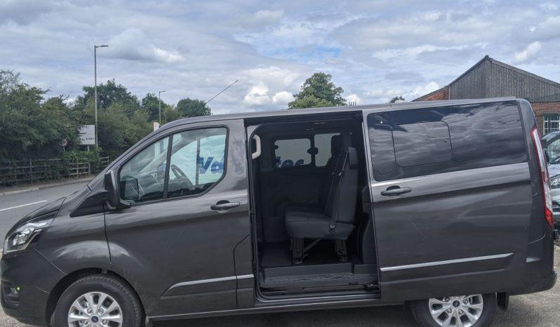 Ford Transit Custom L1H1 130PS Crew Van With Rear Camera full