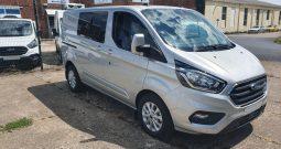 Ford Transit Custom LTD Dog Van With Removable Passenger Seats