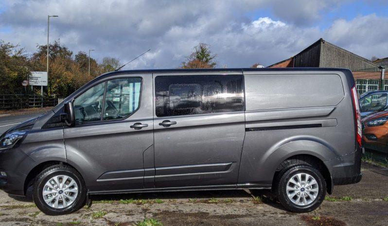 Ford Transit Custom 320 L2H1 185PS Auto LTD Crew Van With Leather Seats full